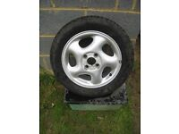 Ford Mondeo Alloy wheel and nearly new Michelin tyre - now reduc