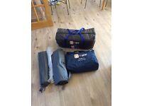 Hi gear Gobi 4 man tent, footprint and carpet