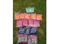 football team kit home and away - 15 players