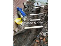 Reliable honest Handyman - Mr Piπ with experience and technical knowledge - many trades and odd jobs