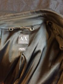 Armani exchange coat size m