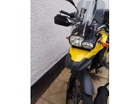 BMW F 650 GS for sale with BMW boxes excellent condition. 12 Months MOT