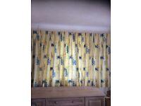 Quality curtains & matching pelmets