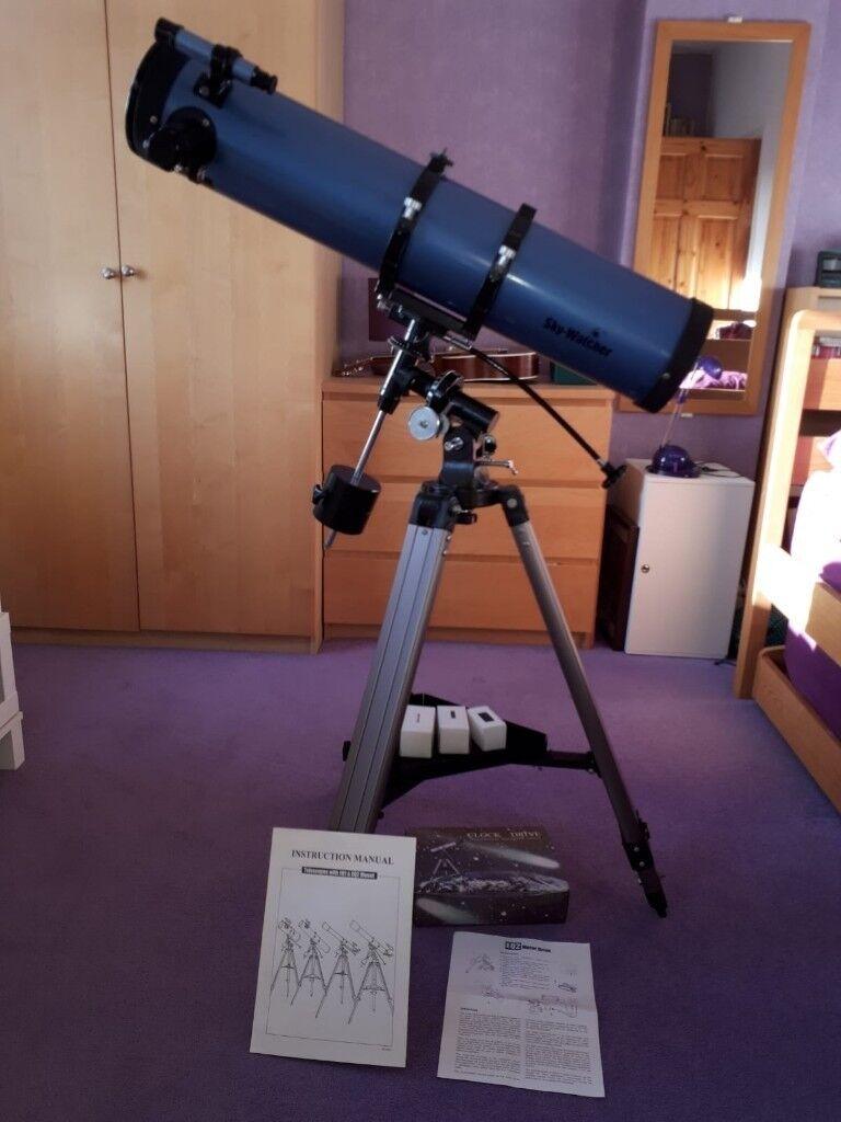 Skywatcher astrolux newtonian reflector telescope sky-watcher.
