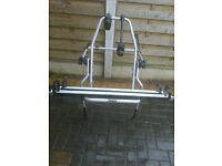 for sale large thule Bike Rack for 2 Bikes Single Tailgate Door Cycle £30