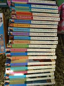 The famous five series 1-21
