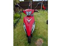 Honley Oliver 100cc Scooter very low mileage