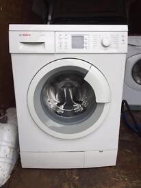 Bosch 8 kilo washing machine