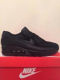 Nike air max 90 All Black Sizes 6,7,8.9,10,11
