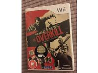 Wii game - The house of the dead Overkill