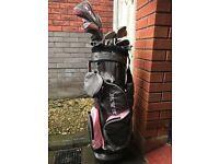 Ram womens golf clubs and bag