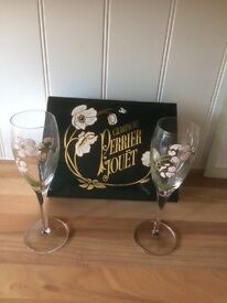 Perrier Jouet Champagne Glasses