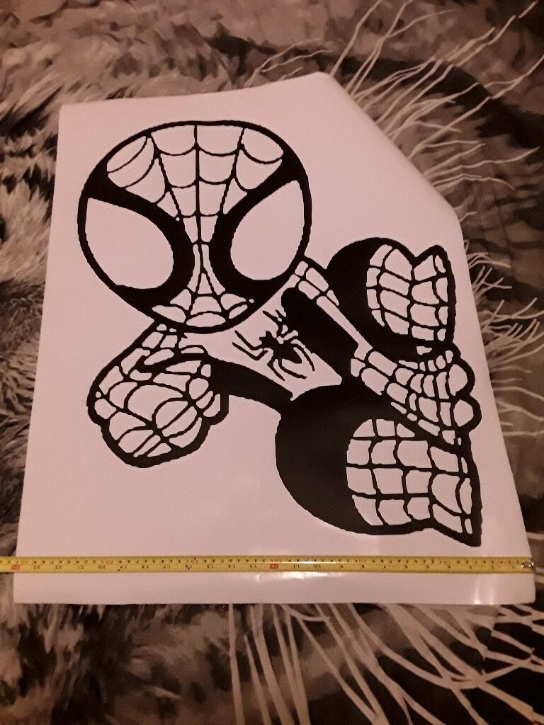 Big Wall sticker spiderman