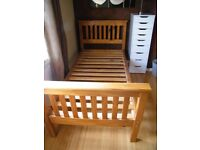Single Solid Pine Bed Frame