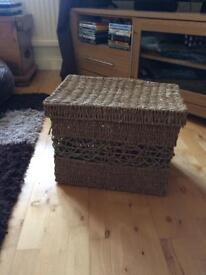 Sea grass storage box