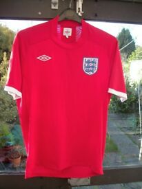 ENGLAND RED FOOTBALL SHIRT