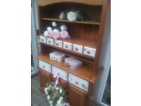 COUNTRY KITCHEN FARMHOUSE DRESSER.... £90-- need gone today... no offers