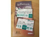 Barcelona tube/ bus/ tram tickets - 2 x T-10