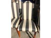 Pair of Chairs - Good quality and colours .