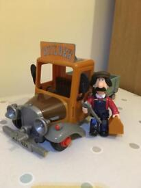 Ted Glen and his truck from Postman Pat