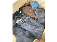 job lot vintage women's mom jeans guess gap size 8-12