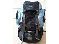 Navy 60L Backpack - Unisex - in good condition