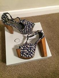 Jessica Simpson heels. Brand new in box. UK size 5