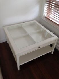 White Coffee Table.