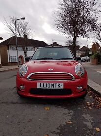 Mini One. 1.6l Rare Convertible. Stunning Red Black Alloys. Service History. MUST SEE.
