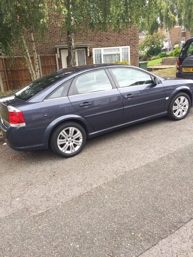 Vauxhall vectra 1.8i vvt exclusiv petrol blue