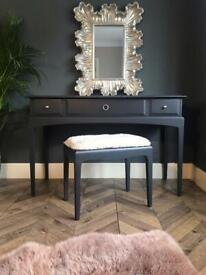 Vintage Stag Minstrel Dressing Table & Stool - Free local delivery