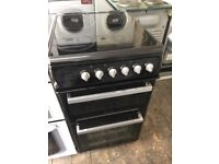 ✅ hotpoint 50 cm wide ceramic top electric cooker £139
