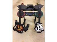 For Sale Guitar Hero World Tour Band Bundle for Nintendo Wii