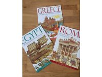 ANCIENT EGYPT, GREECE AND ROME EDUCATIONAL BOOK SET
