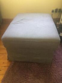 Storage ottoman/footstool
