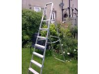 TWO X STEPLADDERS FOR SALE AS SPARE OR REPAIR. COULD DELIVER.