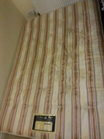 Double Spring Mattress (Free | Very Good Condition | Ready to Pick Up)