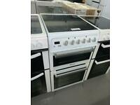 🟩🟩 PLANET APPLIANCE - 60CM WIDE HOTPOINT BRAND ELECTRIC COOKER WITH WARRANTY INCL