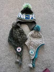 Converse and puma kids hats