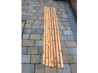 NEW 7 x 6 FOOT WOODEN FENCE PANEL TOPS TOPPERS GARDEN
