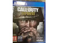 Call of duty ww2 & project cars2 PS4