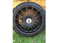 """5x108 18"""" alloy wheels"""
