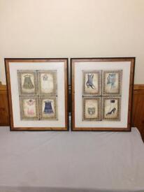 Victorian fashion picture frames Mary Beth zeitz