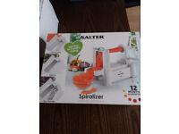 salter spiralizer new in box kitchen gadget for fancy vegetables