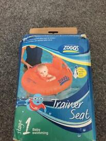 Zogg trainer seat