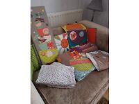 Mamas and papas timbuktales nursery baby bedding set