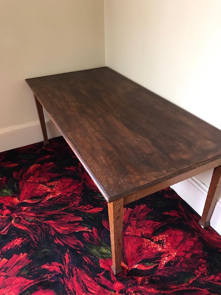 Vintage Oak Dining Table Vintage Oak Dining Table In Dunfermline Fife Gumtree