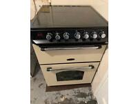 Rangemaster 60cm electric oven and hob