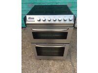 £115.89 Zanussi sls black ceramic electric cooker+55cm+3 months warranty for £129.89