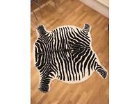 Ikea Zebra Print Rug